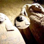 Two and a half thousand year old coffin found in Egypt